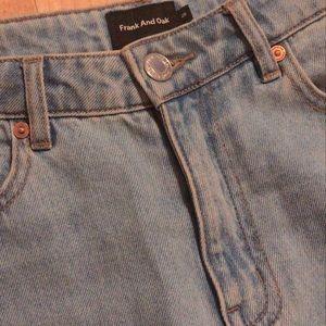 Frank & Oak Patti blue jean